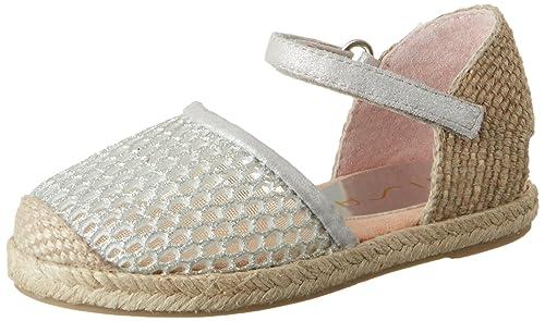 Unisa Yabi_shm, Alpargatas para Niñas, Plateado (Silver), 33 EU: Amazon.es: Zapatos y complementos