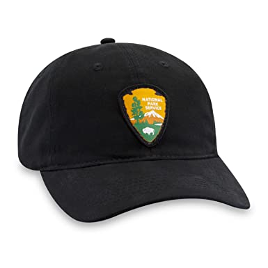 a1c11edc Image Unavailable. Image not available for. Color: Haka Hat National Park  Service Patch Baseball Cap ...