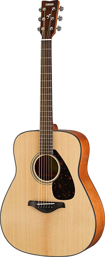 Yamaha Fg Solid Top Acoustic Guitar