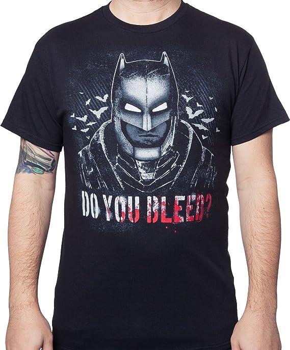 DC Comics Batman vs Superman Do You Bleed Camiseta: Amazon.es: Ropa y accesorios