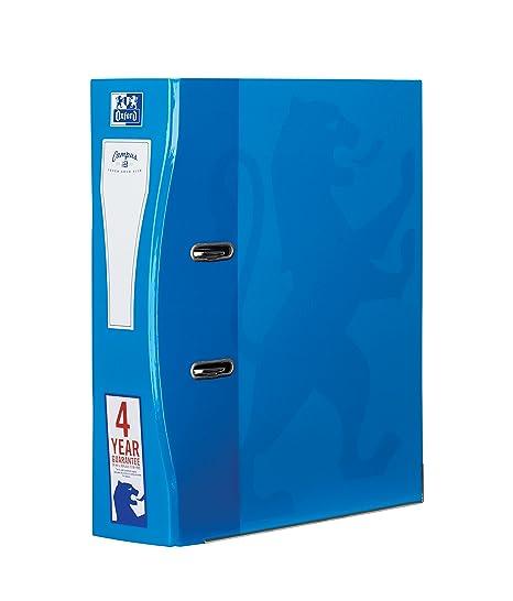 Archivadores Oxford A4, 70 mm, color agua paquete de 1 unidad