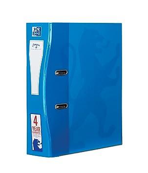 Archivadores Oxford A4, 70 mm, color agua paquete de 1 unidad: Amazon.es: Oficina y papelería