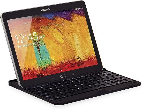 Sharon - Funda/carcasa para Samsung Galaxy Note 10.1 Edition 2014 SM-P600 SM-P605 y para Samsung Galaxy Tab Pro 10.1 con teclado Bluetooth incluido - ...