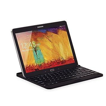 Sharon - Funda/carcasa para Samsung Galaxy Note 10.1 Edition 2014 SM-P600 SM-P605 y para Samsung Galaxy Tab Pro 10.1 con teclado Bluetooth incluido ...