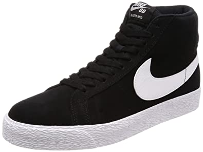 buy online 633a7 a5a1f Nike SB Zoom Blazer MID Mens Fashion-Sneakers 864349-002 8.5 - Black