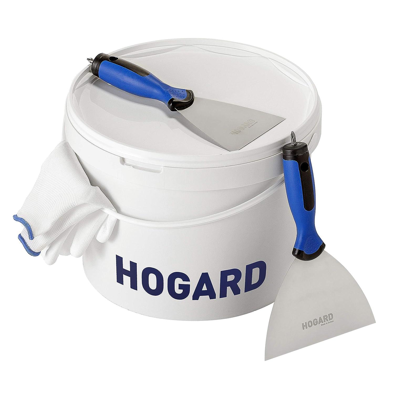 3.9 inch 100 mm Made in EU HOGARD Premium Esp/átula de Juntas Pladur con Bit de Acero Inoxidable con Mango Ergon/ómico
