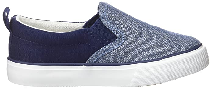 Amazon.com | Zippy Boys Plimsolls Espadrilles, Blue (Chambray ZBS06_430_9), 1.5UK Child | Slippers