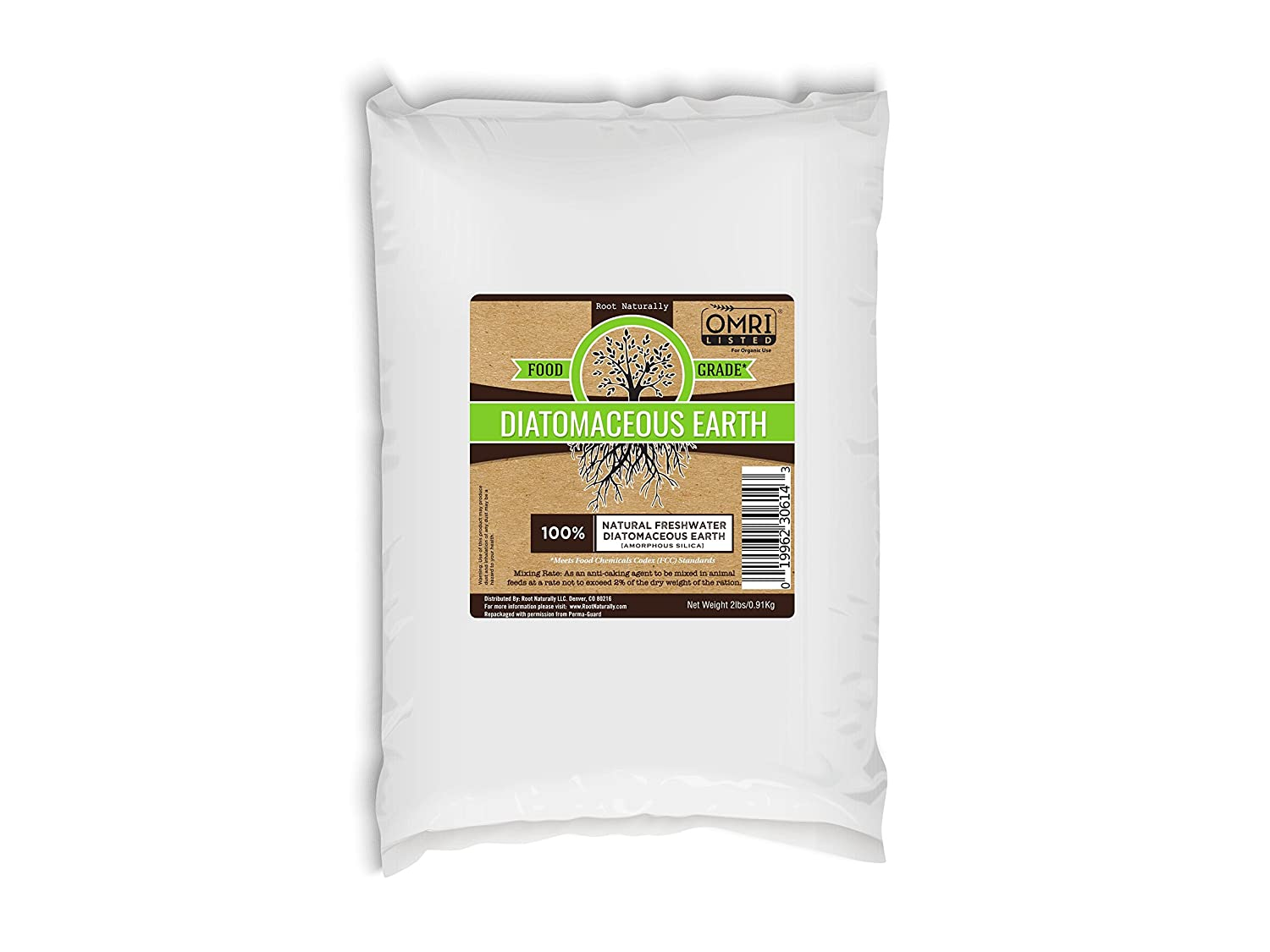 Diatomaceous Earth Food Grade OMRI Listed - 2 Lb