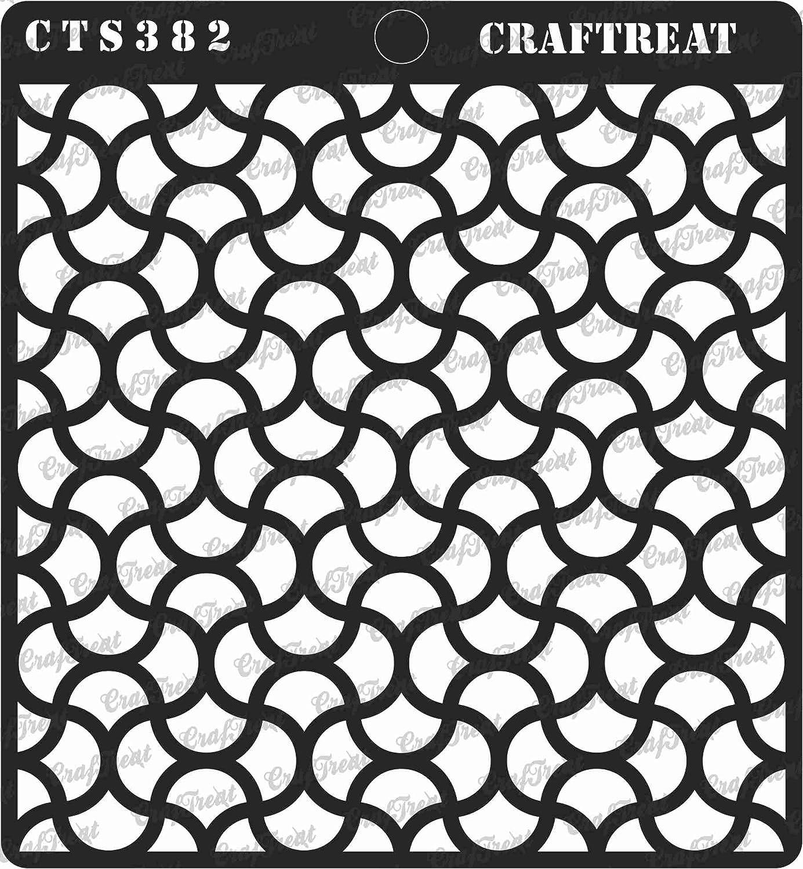 Scrapbook and Printing on Paper DIY Albums CrafTreat Stencil Fabric Floor Wood 12X12 Crafting 2 pcs Mandala II /& Peacock Dot Mandala | Reusable Painting template for Home Decor Wall Tile