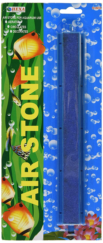 AQUARIUM AIR STONE 25.5cm   10 - airstone diffuses Bubble wall for 4 6mm tubing