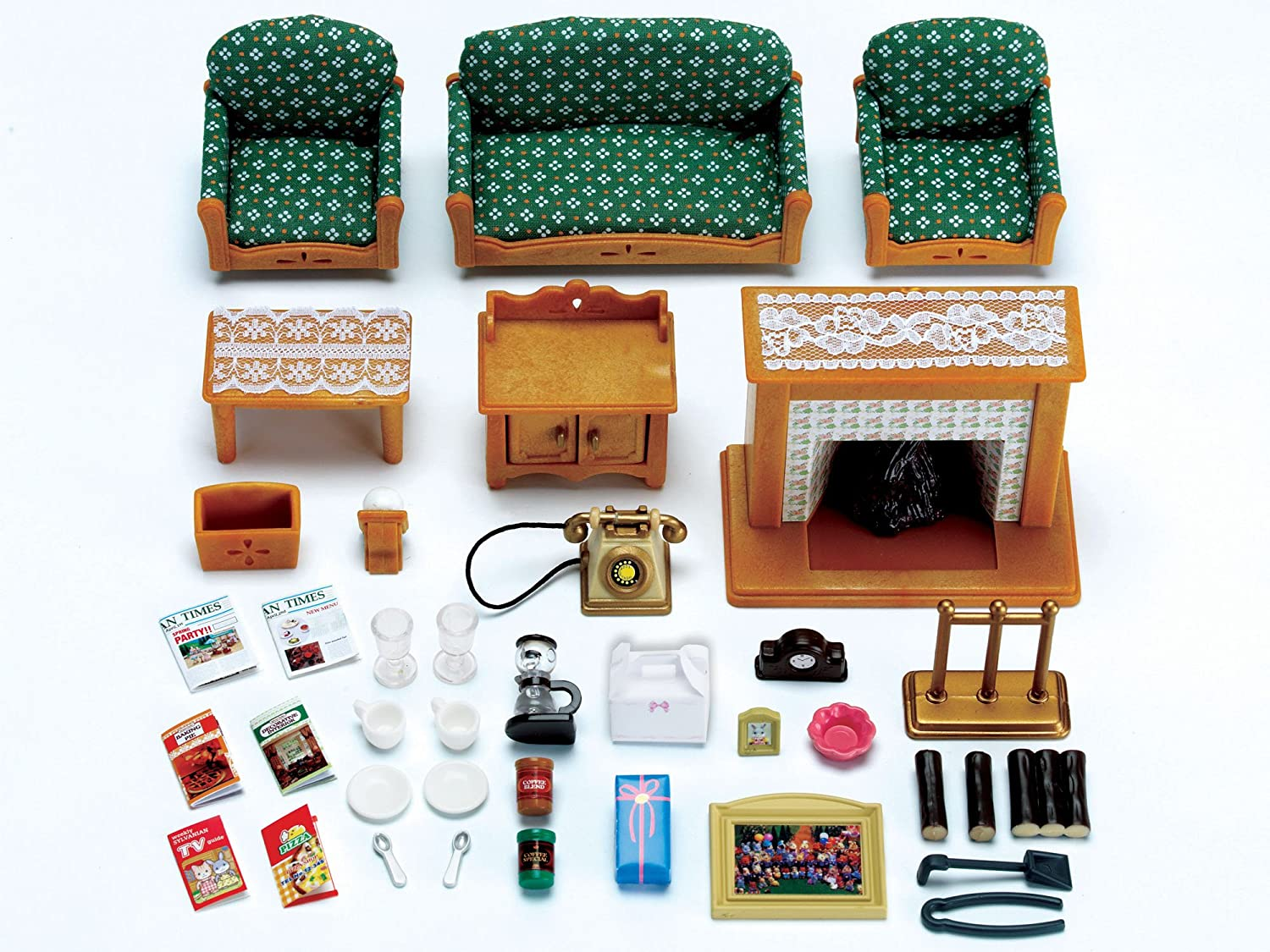 Charmant Sylvanian Families Deluxe Living Room Set: Sylvanian Families:  Amazon.co.uk: Toys U0026 Games