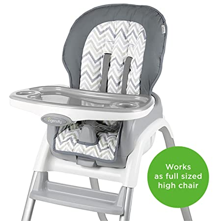 Amazon.com: Ingenuity Silla alta Trio Elite 3-en-1, Braden: Baby