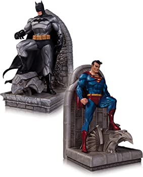 DC Collectibles DC Comics Superman and Batman Bookends