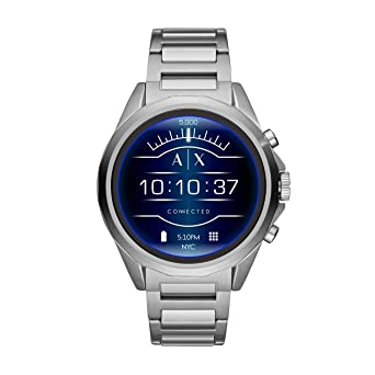 fc7a0748432 Amazon.com  Armani Exchange Men s Stainless Steel Touchscreen ...