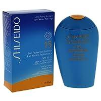 Shiseido SPF 15 Sun Protection Lotion, 5 Ounce