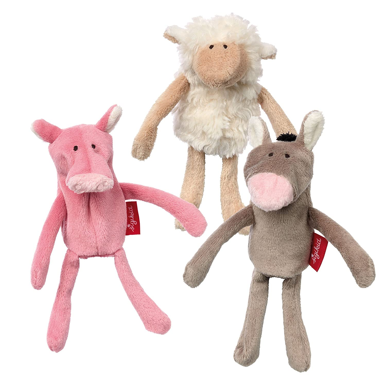 Sigikid Sigikid41565 14 x 5 x 4 cm Farm Finger Puppet Set