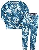 VAENAIT BABY UPTO 12Y Toddler Kids Boys Girls 100% Cotton Marbling Sung Fit Sleepwear Pajamas 2pcs Pjs Set