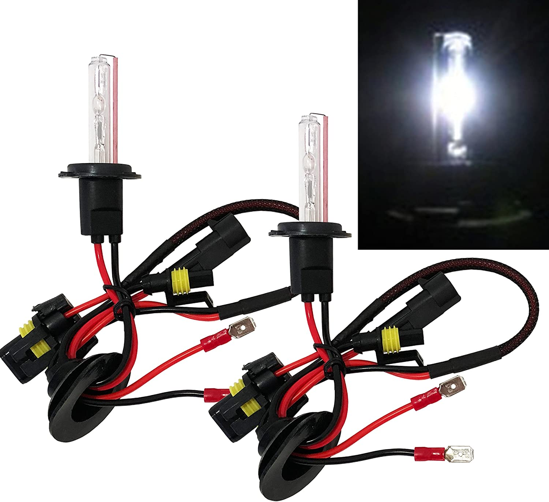 H7 AC 35W HID Xenon Replacement Bulbs Headlight Lamp Light 1 Pair