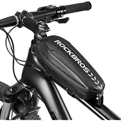 ROCKBROS Bolsa de Cuadro Tubo Superior Manillar a Prueba de Agua para MTB Bici de Carretera Bolsa de Sillín para Bici Plegable