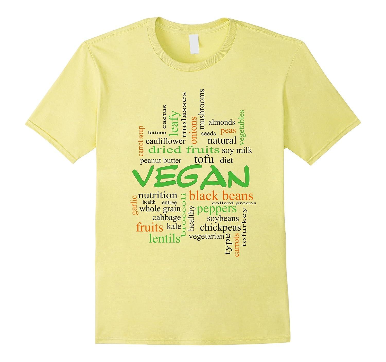 Vegan T-shirt Plant-based Diet-TD