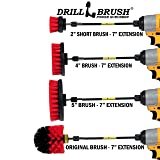 Drillbrush - Stiff Bristle Power Scrubber