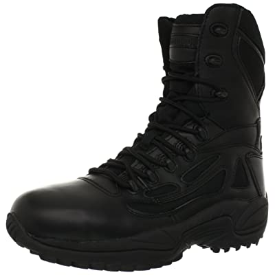 "Reebok Work Duty Men's Rapid Response RB RB8877 8"" Tactical Boot: Shoes"