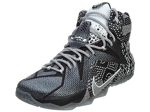 save off 84e9d 9786b Nike Lebron 12 BHM - 718825-001