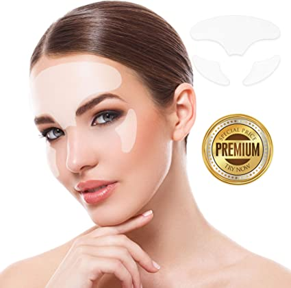 Almohadillas de silicona reutilizables antiarrugas para el pecho para evitar el envejecimiento y eliminar las arrugas y estr/ías para una piel suave