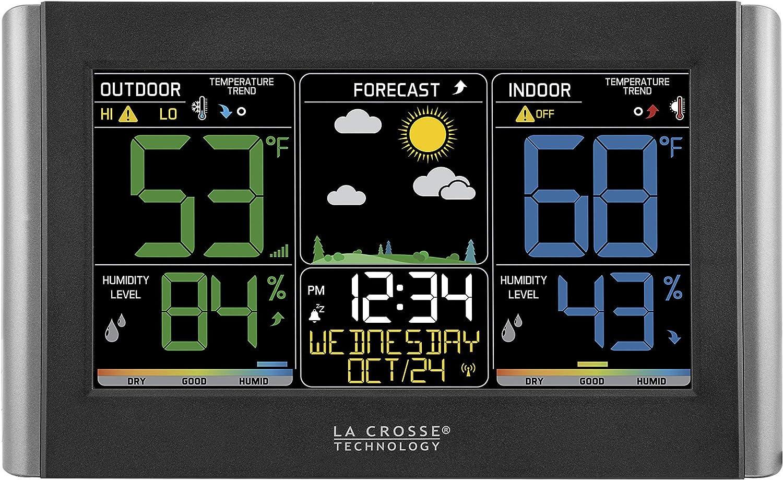 La Crosse Technology C85845 Color Wireless Forecast Station (Renewed)