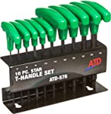 ATD Tools (576) 10-Piece Star T-Handle Set