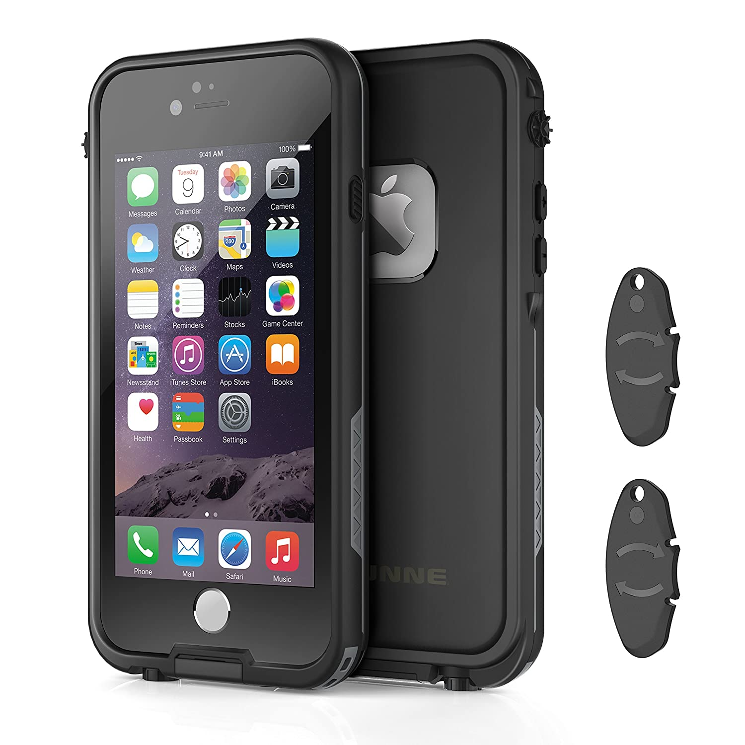 Amazon iphone 66s waterproof case with 2 case openers ounne amazon iphone 66s waterproof case with 2 case openers ounne shockproof ip68 certified with touch id sand proof snowproof full body cover for iphone falaconquin