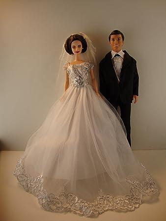 22968d02c6458 Home Décor Handmade Elegant Bride Dolls Set Home Décor Accents 18 Inch  Realistic Dolls 12 Ball ...