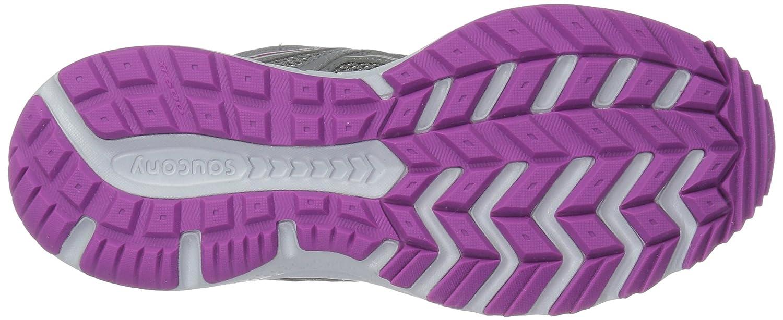 Saucony Women's Cohesion TR11 Running Shoe B071JMDQ5L 12 B(M) US|Grey/Purple