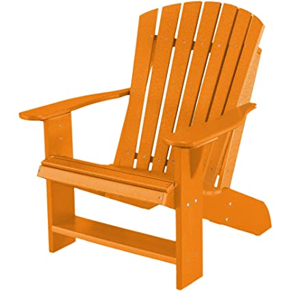 Remarkable Amazon Com Wildridge Recycled Plastic Heritage Adirondack Andrewgaddart Wooden Chair Designs For Living Room Andrewgaddartcom