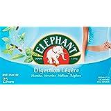 Elephant Infusion Digestion Légère 25 Sachets 41g - Lot de 4
