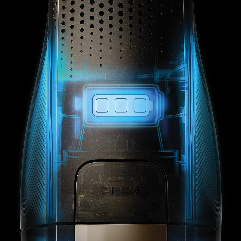 Electrolux Balai électrique Rechargeable Ultrapower, Batteries au Lithium de 32,4 V, 80 Minutes d\'autonomie, 82 décibel Gris Gris