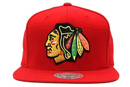 Amazon.com   NHL Mitchell   Ness Vintage Wool Solid Snapback Hat ... a8dd02a0912