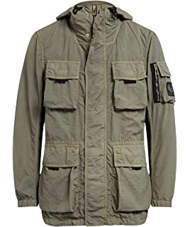 c3e43122756f Belstaff Pendeen Nylon Jacket Orange 36  Amazon.co.uk  Clothing