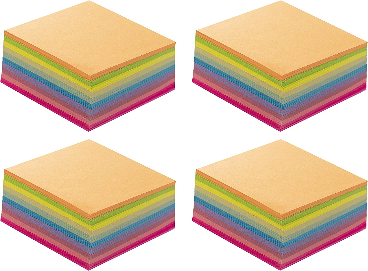 #AV232-8. AV paper series 232 sheets Origami Papers For Making 2pcs of Yellow Color Paper Lotus in 2 Different Sizes.