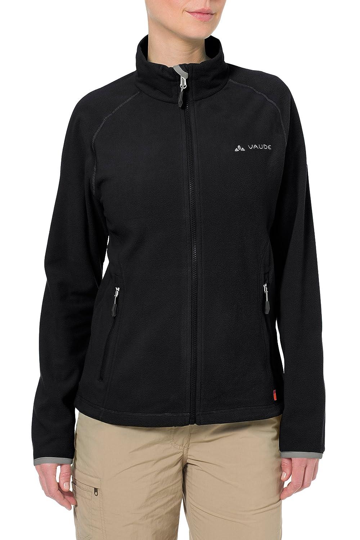 Vaude Women's Smaland Hooded Jacket, Chaqueta De Esquí Para Mujer, Negro, 36 (Talla Del Fabricante: XS)