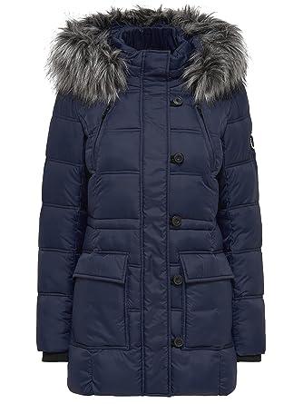 Only winterjacke blau