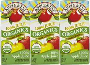Apple & Eve Organic Juice, Apple, 6.75 Fluid-oz., 3 Boxes, Pack of 9