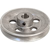aluminio, di/ámetro: 120 mm, calibre: 19 mm Polea Fartools 117255