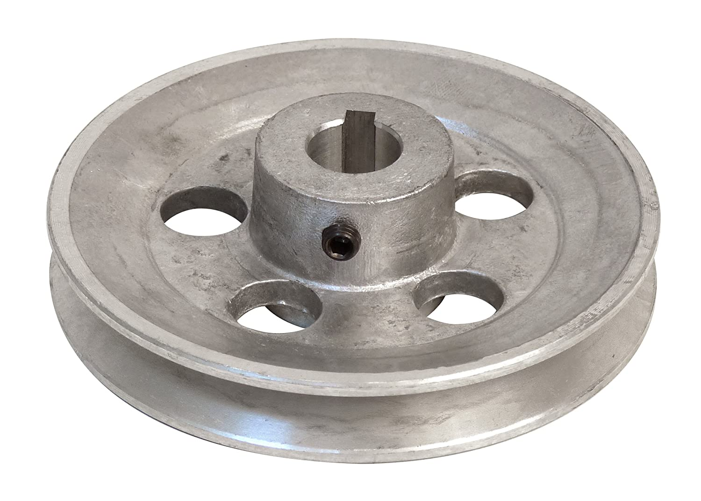 Fartools 117255 Pulley Aluminium 120 mm Diameter / 19 mm Bore