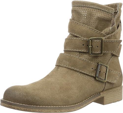 Tamaris 25326 Women S Ankle Boots Beige Taupe 341 7 5 Uk 41 Eu Amazon Co Uk Shoes Bags