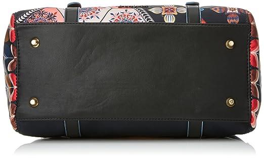 61f42ec793 Desigual Bols_san Marino Retro Fresh. 2000. U - Donna, Nero (Negro),  12.5x23x30.2 cm (b x h t): Amazon.it: Scarpe e borse