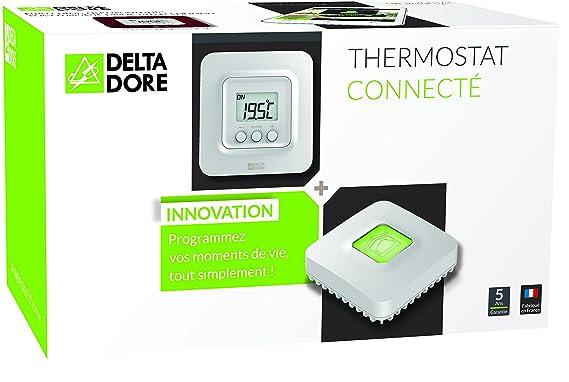 Delta Dore - 6050632 Tybox 5100 Pack de Termostato ambiente conectado con passarel la domótica IP Tydom 1.0: Amazon.es: Bricolaje y herramientas