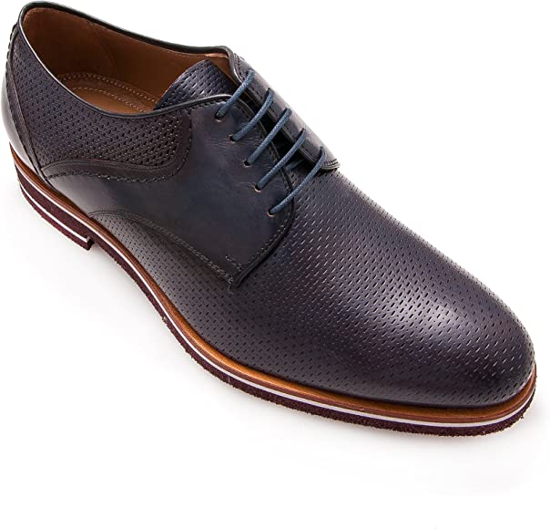 Zerimar Zapatos Hombre | Zapatos Hombre Casuales | Zapatos Hombre Vestir | Zapatos Hombre Piel | Zapatos Hombre Oxford |Color Azul Marino Talla 39: Amazon.es: Zapatos y complementos