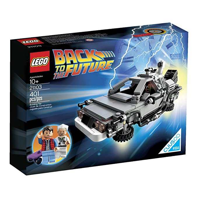 Lego The De Lorean Time Machine Building Set 21103 (Discontinued By Manufacturer) by Lego