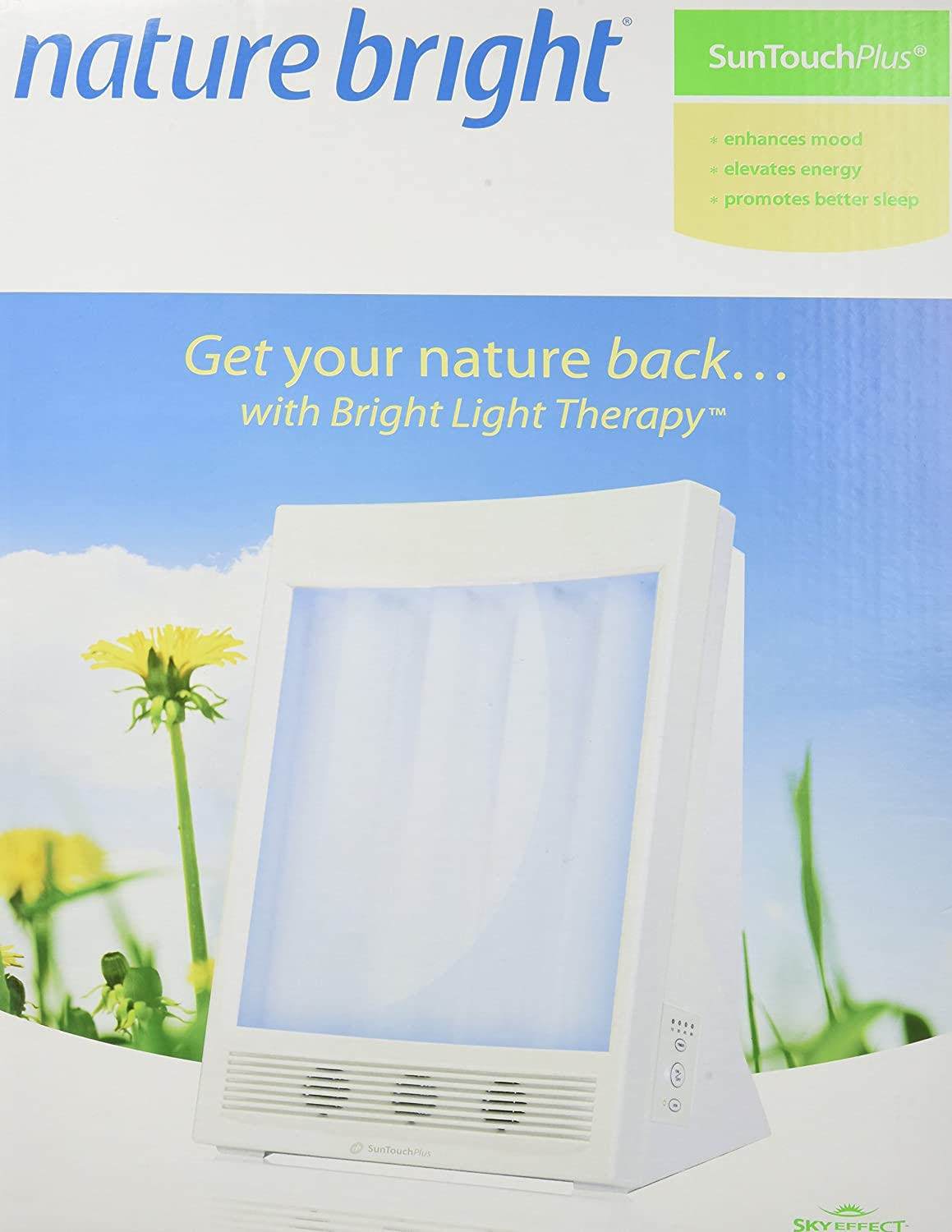 Naturebright Suntouch Plus Light And Ion Therapy Lamp Where A Potato Or Several Can Be Used To Power Clock Package May Vary Health Personal Care